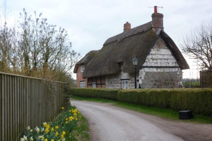 Cottage in hamlet Hallem