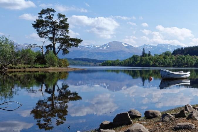 Views across Loch Lochy