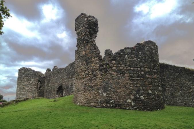 Inverlochy Castle Ruins