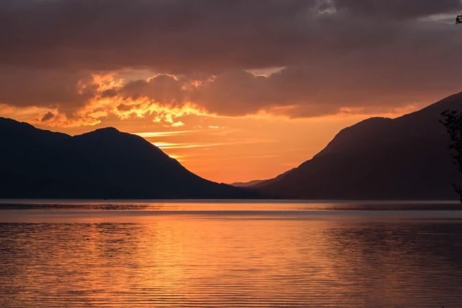 Loch Linnhe at sunset