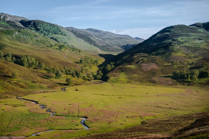 Route near Fort Augustus